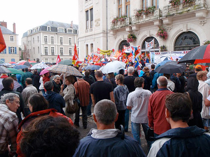 Appel à la manifestation intersyndicale du 23 septembre